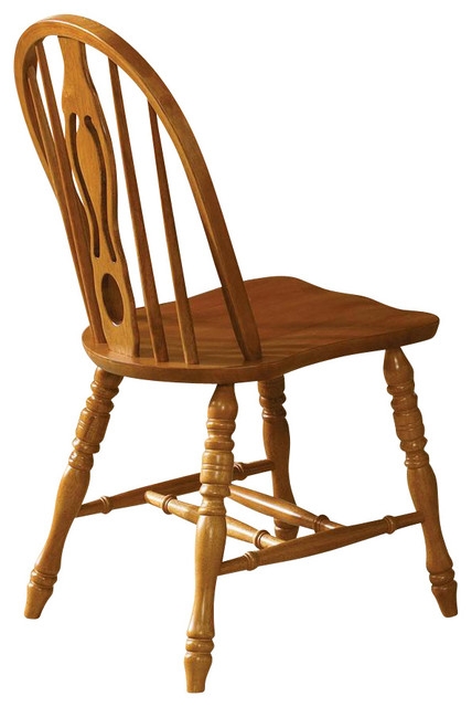 Country Haven Windsor Side Chair Set of 2 Traditional