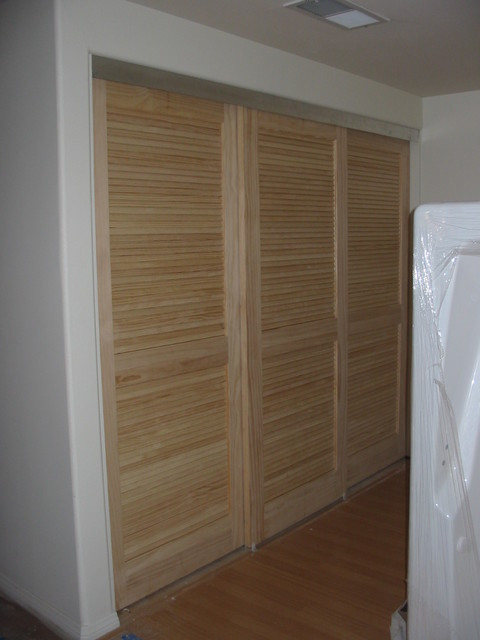 Wardrobe doors eclectic los angeles by the closet for Closet doors los angeles