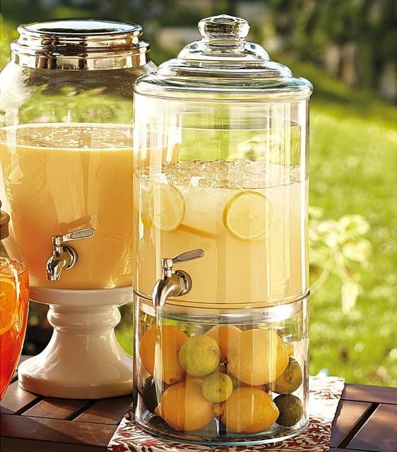 Decorator's Drink Dispenser | Pottery Barn traditional-beverage-dispensers