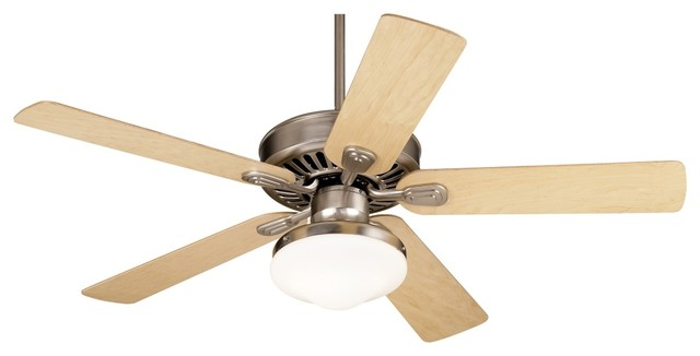 "Contemporary 52"" Casa Vieja Windstar II Maple Blades Ceiling Fan contemporary ceiling fans"