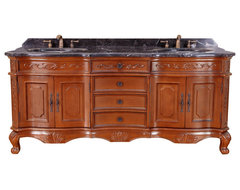 "73"" Bosconi T-3808 Double Vanity traditional-bathroom-vanities-and-sink-consoles"