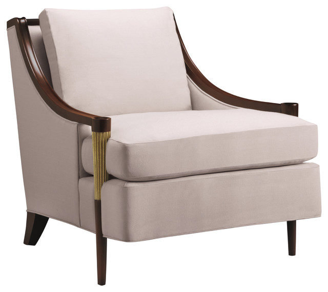 Signature lounge chair baker furniture modern for Stylish lounge chairs