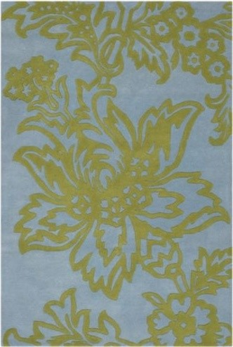 Parrot Tulip Wool Rug by Amy Butler modern-rugs