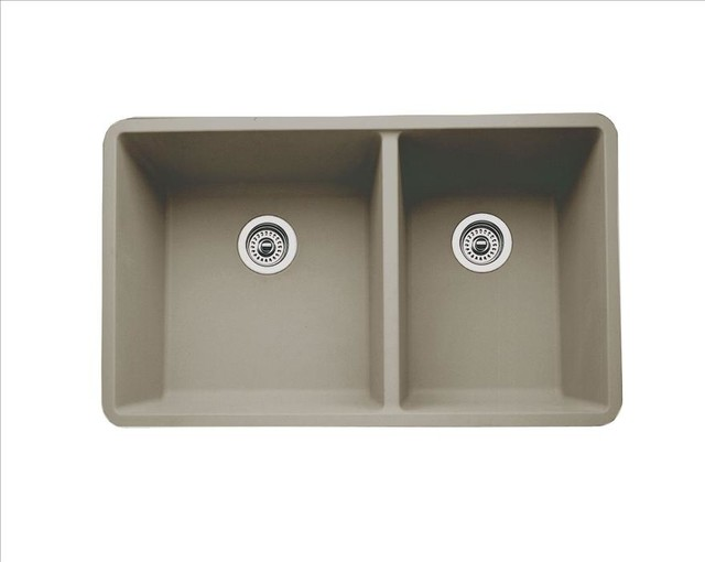 BLANCO 441296 Blanco Precis Truffle Kitchen Sink traditional-kitchen ...