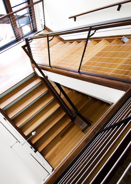 Mountain Contemporary contemporary-staircase