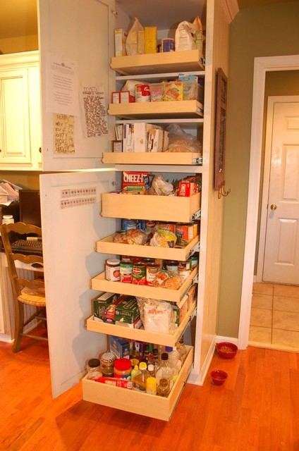 Pull out shelves louisville by shelfgenie of kentucky - Roll out shelving for pantry ...
