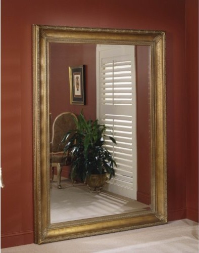 Liv Leaning Wall Mirror - 61W x 86H in. traditional-mirrors
