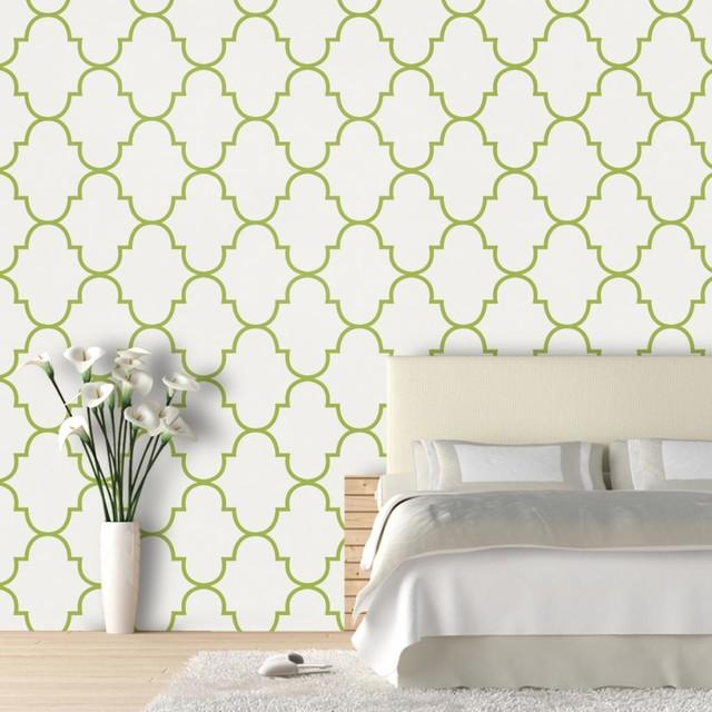 Modern Trellis Wallpaper: Classic Trellis Wallpaper 9.5'feet