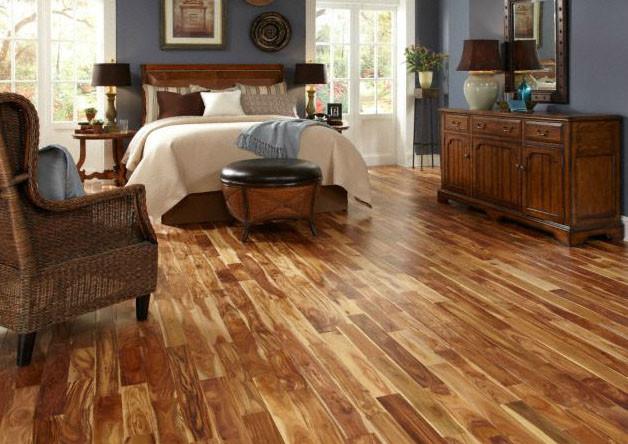 Schon Engineered Acacia Quick Clic Hardwood Flooring