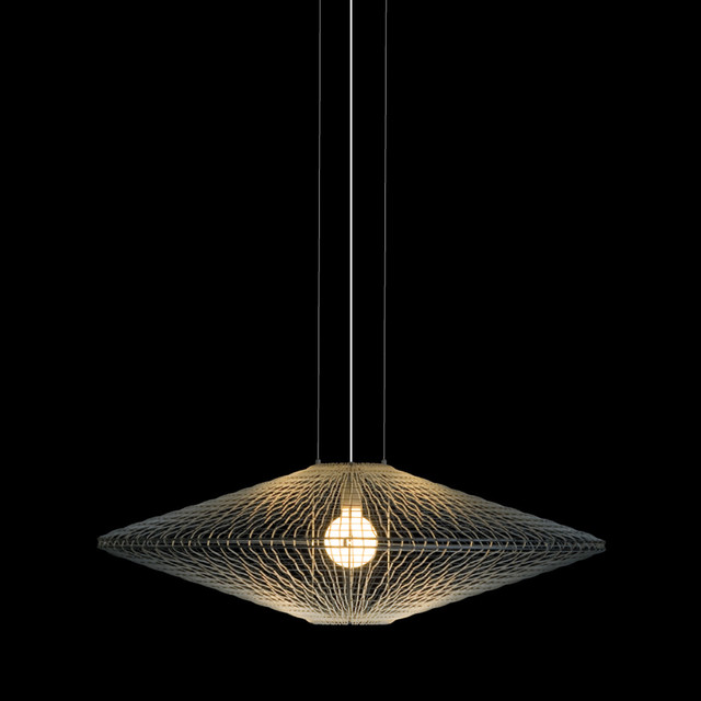 Hive halo disc lamp modern pendant lighting by for Modern hive