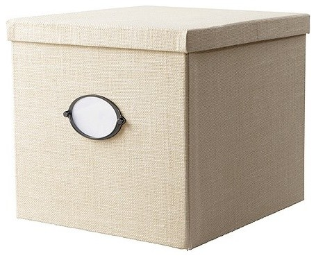 KVARNVIK Magazine box with lid modern storage boxes