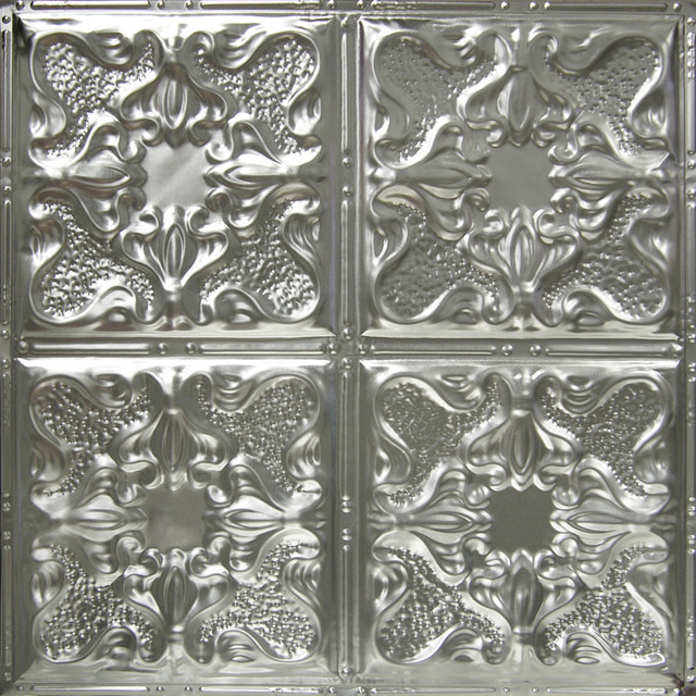 Tin Ceiling Tile -Pattern 4 eclectic-ceiling-tile