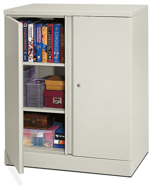 Basyx Metal Storage Cabinet - Contemporary - Accent Chests And Cabinets - by SmartFurniture