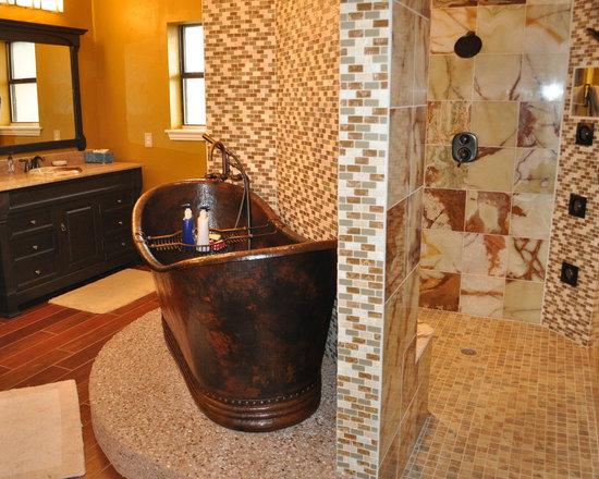 Hand Hammered Copper Bathtubs - Jim