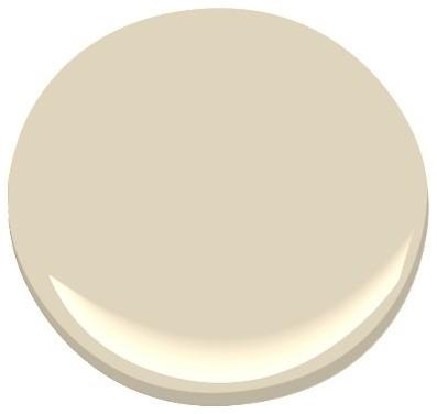 Cream Fleece 233 Paint By Benjamin Moore