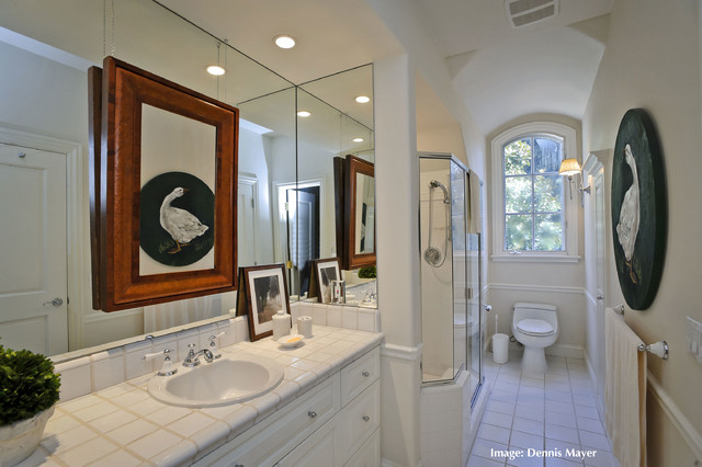 French Country Style Home- Extreme Remodel 9316 traditional-bathroom