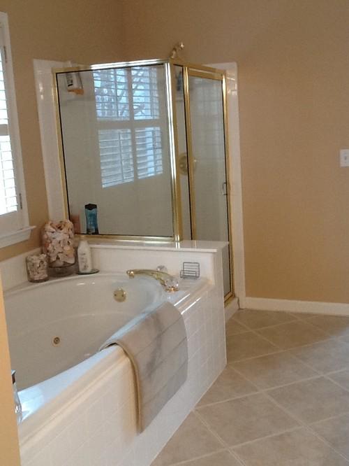 Master Bathroom Renovation Goodbye 90 S Decor