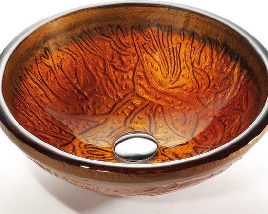 "Kraus GV-600-19mm Copper Glass Vessel Sink - APPLY COUPON CODE ""EDHOUZ20"" AT CHECKOUT. JUST OUR WAY OF SAYING THANKS."