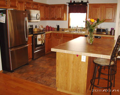 Shaped Kitchen Designs  Island on What Type Of Island Will Fit Into This L Shaped Kitchen    Houzz