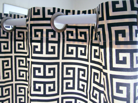 Coral and gray curtains - Navy Shower Curtain Shower Curtain Towers Navy