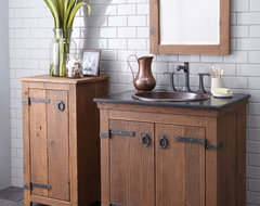 Americana Vanity and Cabinet by Native Trails traditional-bathroom-vanities-and-sink-consoles