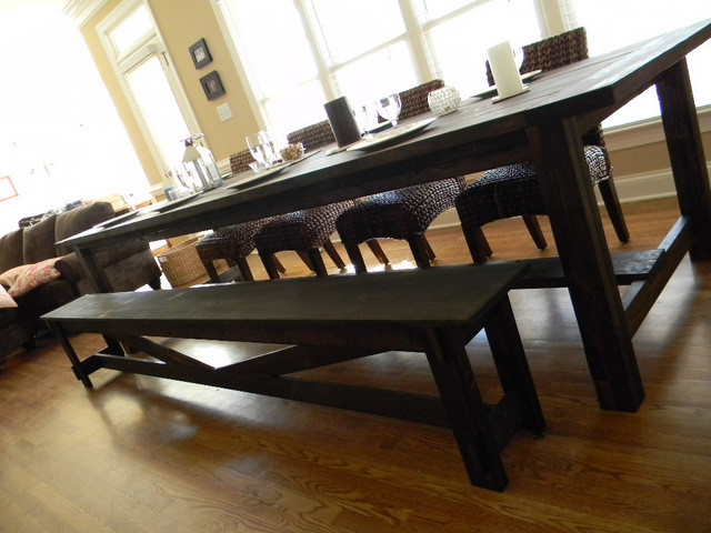 Farmhouse Dining Table Farmhouse Dining Tables Raleigh By