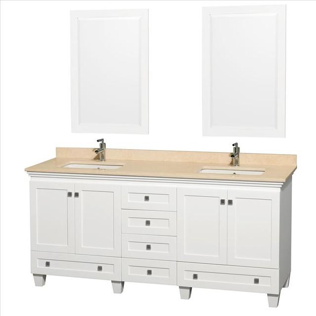 Wyndham Acclaim Vanity Double Sinks traditional-bathroom-vanities-and-sink-consoles