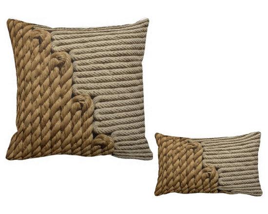 Rope Print Custom Pillow Design -