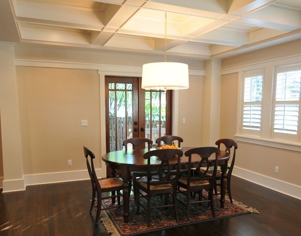 Historic Hyde Park Bungalow traditional-dining-room