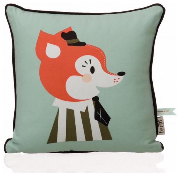 Mr. Frank Fox Pillow contemporary-decorative-pillows