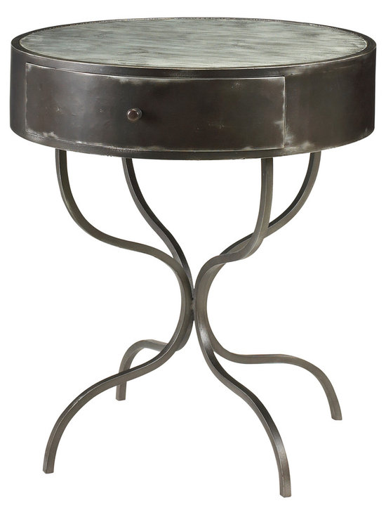 """French Heritage - Colmar Table - This bistro table whispers of days spent on the boulevard people watching as you chat with friends. """"Encore du vin,"""" you say in perfect French."""