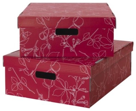 LINGO Clothes box with lid modern-storage-bins-and-boxes