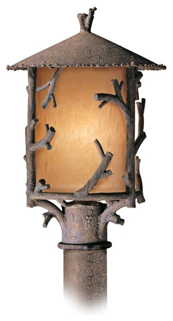 "Cheyenne Collection 17"" High Outdoor Post Light traditional-post-lights"