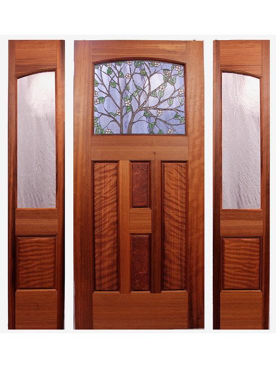 Dogwood Entry - ZoletaLeeDesign/Mendocino