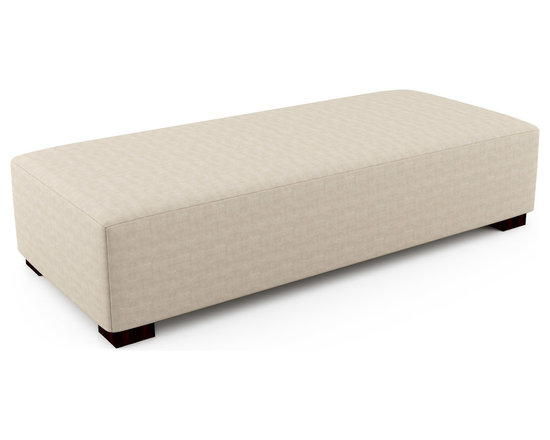 """Mento 81"""" x 36"""" Bench – Thick - Firm foam on this bench provides adequate support whether you are looking to sit or lay on this piece. The optional tufting and quilting for a finish lets you create the exact bench you want for your home or space.Viesso designs and manufactures this piece of modern furniture. All of the benches from Viesso, along with the sofas and sectionals, are built one at a time in Los Angeles in 3 weeks. With all the custom options available, they are truly built for you and your space.  A custom bench that's also an eco bench. Yes, it's that good."""