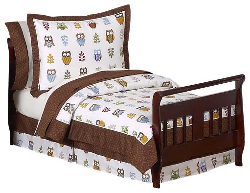 Night Owl 5-Piece Toddler Bedding Set by Sweet Jojo Designs traditional-kids-bedding