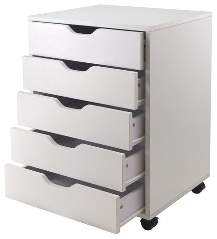 Halifax 5 Drawers Cabinet - Modern - Storage Units And Cabinets - by Wayfair