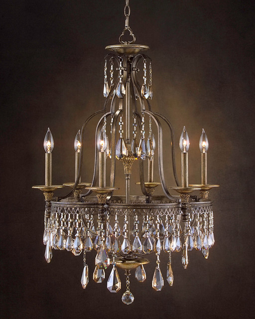 John Richard 6 Light Chandelier AJC-8683 modern-chandeliers