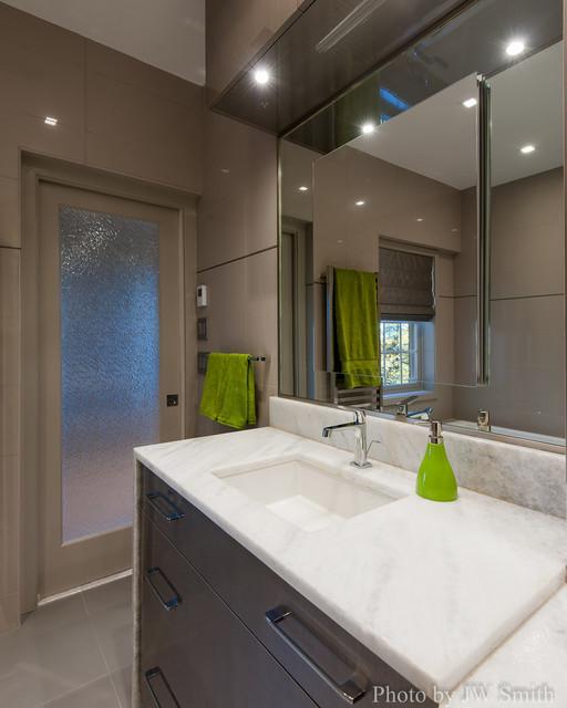 Master bathroom redesign alexandria va contemporary Bathroom remodeling alexandria va