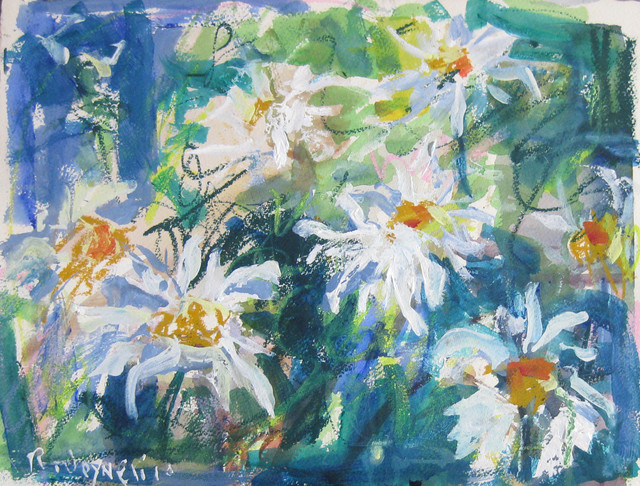 Watercolor Flower Painting contemporary-artwork