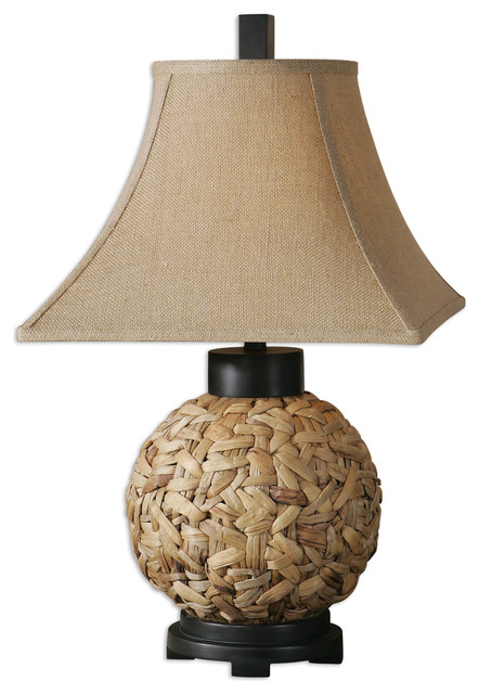 Calameae Rattan Lamp traditional-table-lamps