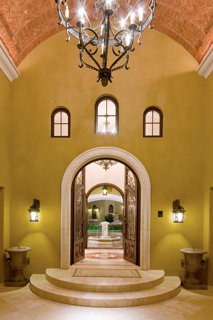 Iron Entry Doors - Traditional - Exterior - phoenix - by Colletti Design Iron Doors