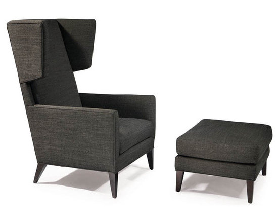 Thayer Coggin - Bad Habit Lounge Chair and Ottoman from Thayer Coggin - Thayer Coggin Inc.