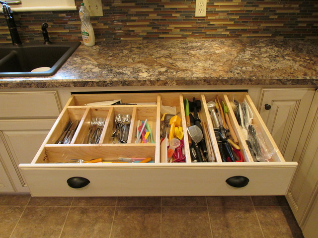 Kitchen Accessories - Kitchen Drawer Organizers - other metro - by WoodArt Fine Cabinetry