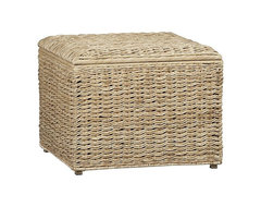 Westport Storage Cube tropical ottomans and cubes
