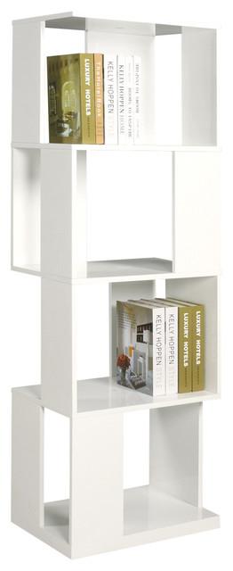 Selina All Side Open Modern Book Shelf bookcases
