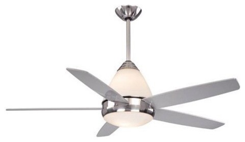 AireRyder FN52239SN Fresco 52 in. Indoor Ceiling Fan - Satin Nickel contemporary-ceiling-fans