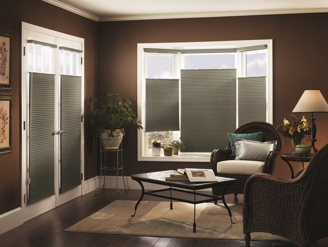 Graber CrystalPleat Blackout Shades Traditional Family