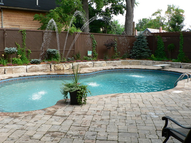 Inground pools for Inground pool designs pictures