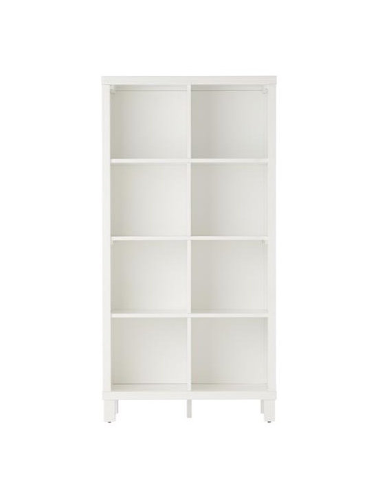 Cubic Bookcase, White, 8 Cube -